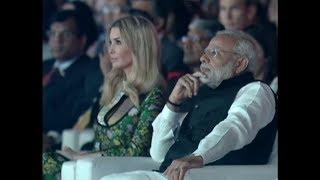 PM Narendra Modi & Ivanka Trump inaugurates the eighth Global Entrepreneurship Summit in Hyderabad