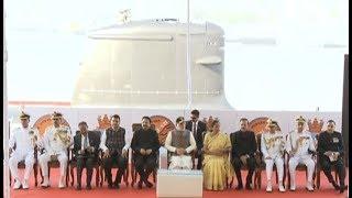 PM Modi dedicates Naval Submarine INS Kalvari to the Nation | PMO