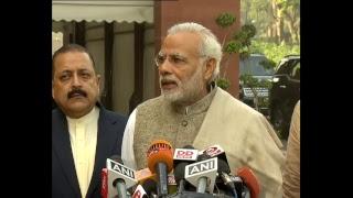 PM Modi briefs the Media on the beginning of Winter Session of Parliament, New Delhi | PMO