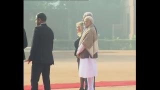 PM Modi and PM Netanyahu lay Wreath at the Memorial of Mahatma Gandhi at Raj Ghat   PMO