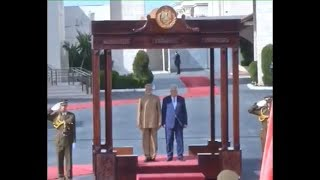 Ceremonial welcome and guard of honour for PM Modi in Palestine | PMO