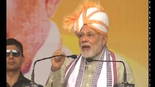 PM Modi's speech at the laying of the foundation stone of several projects to the nation in Manipur