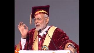 PM Modi attends Convocation of Sher-E-Kashmir University, Jammu | PMO