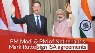 PM Modi and Netherlands' PM Rutte sign ISA agreements, and Joint Press Statement at Hyderabad House