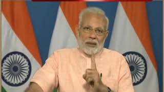 PM Modi interacts with the beneficiaries of Mudra Yojana from across the Nation, via VC | PMO