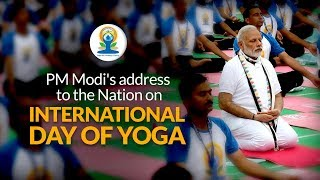 PM Modi's address to the Nation & Yoga Session on International Day of Yoga 2018 in Dehradun | PMO