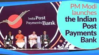 PM Modi launches the Indian Post Payments Bank at Talkatora Stadium in Delhi | PMO
