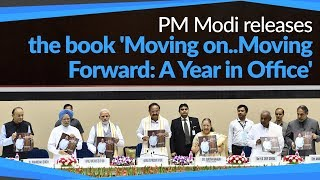 PM releases book 'Moving on..Moving Forward: A Year in Office' to mark VP Naidu's One Year in Office