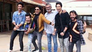 Chhichhore Movie Promotion | Star Cast Spotted At Juhu | Sushant Singh Rajput, Varun Sharma