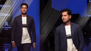 Sumit Vyas Walks For Khadi India At Lakme Fashion Week 2019