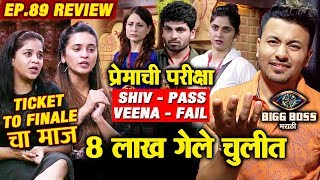 Shivani And Neha ARROGANT | Shiv And Veena Loyalty Test | Bigg Boss Marathi 2 Ep.89 Review