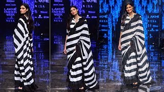 Athiya Shetty Walks The Ramp For Abraham And Thakore At Lakme Fashion Week 2019