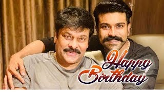 Chiranjeevi Ram Charan Rare Photos | Chiranjeevi Birthday 2019 Sepcial | Top Telugu TV