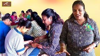 इन भारतीय नारियों को सो सो सलाम - Maya Kedia Makharia - Activity Class - (Live Video) Mehndi Designs