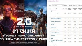 2PointO Advance BOOKING Started In CHINA Day 1 REPORT, Akshay Kumar And Rajinikanth Starrer