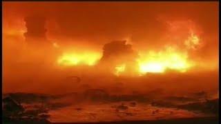 खंडवा गोडाउन में लगी भीषण आग, दो  करोड़ की संपत्ति राख  | khandwa news | khandwa news today
