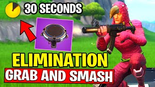 ELIMINATE AN OPPONENT WITHIN 30 SECONDS OF USING A LAUNCH PAD - GRAB and SMASH CHALLENGES FORTNITE
