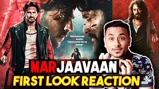 Mar Jaavaan | First Look Review | Reaction | Sidharth Malhotra | Riteish Deshmukh