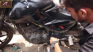 बारिश में बाइक बंद पड़ जाने पर क्या करे !! Barish Special - Bike Tutorial Video !! Tips In Hindi