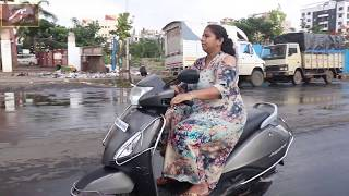 ONLINE SCOOTY Training By Maya Kedia Makharia - Easy Learning Lesson -4 | How to Take Turn in Scooty