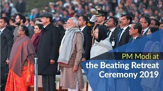 PM Modi at the Beating Retreat Ceremony 2019 | PMO