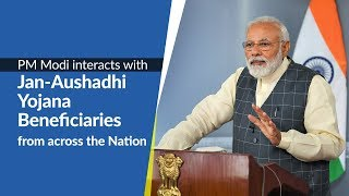PM Modi interacts with Jan-Aushadhi beneficiaries from across the Nation   PMO