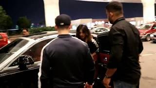 Priyanka chopra with boyfriend Nick spotted at airport