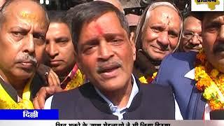 दिल्ली - महाशिवरात्री के मौके पर राजधानी के सदर बाजार में कलरफूल  शिव-बारात  शोभा यात्रा