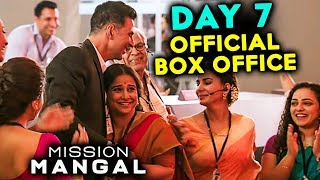 Mission Mangal | 7th Day Box Office Collection | Akshay Kumar, Sonakshi, Vidya Balan