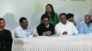 Shahrukh Khan Inaugurate Postage Stamp With Ashish Shelar | Bandra Railway Station