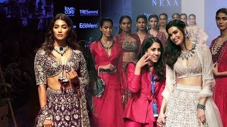 Pooja Hegde And Diana Penty Ramp Walk | Lakme Fashion week 2019 | Jayanti Reddy | Ridhi Mehra