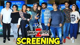 The Angry Bird Movie 2 Special Screening | Kapil Sharma, Kiku Sharda, Archana Puran Singh