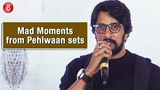 Kichcha Sudeep reveals mad moments with Sushant Singh on 'Pehlwaan' sets
