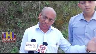 15  Landslide in village Karyalag of Ghumarwin visited by special team from Shimla
