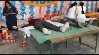 17 Hundred students participated in the blood donation camp in Sundar Nagar
