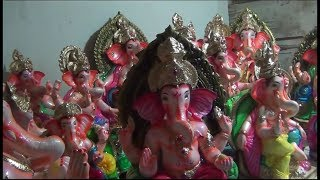Makers of clay Ganesh idols struggle to survive