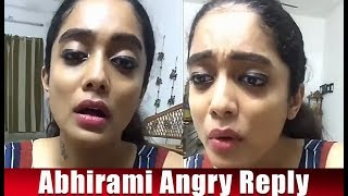 Bigg Boss Abhirami angry reply to fake popularity controversy