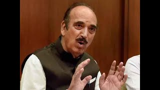 We're not going there to break any law: Ghulam Nabi Azad on Kashmir visit