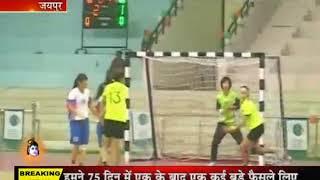 जयपुर:8वी एशियन महिला यूथ हैंडबाल चंपियनशिप,चाइना ने मंगोलिया को बड़े अंतर से हराया