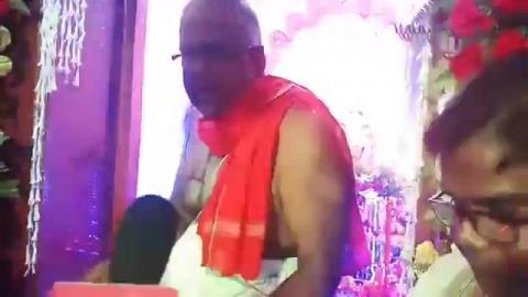 Sri Krishna Birth Anniversary live Sri Sri Gopinath Mandiram, SP Mukherjee Road, Siliguri