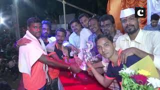 Krishna Janmashtami: 'Govindas' passionately celebrate Dahi Handi in Mumbai's Worli