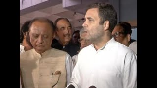 Clear that situation in J&K is not normal says Rahul Gandhi after being sent back from Srinagar