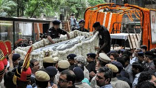 Arun Jaitleys final journey begins, mortal remains being taken to Nigambodh Ghat