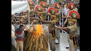 Arun Jaitley cremated with full state honours at Nigambodh Ghat