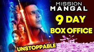 Mission Mangal | 9th Day Box Office Collection | Akshay Kumar, Sonakshi, Vidya Balan