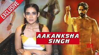 Pehlwaan Actress Aakanksha Singh Exclusive Interview | Kichcha Sudeep | Suniel Shetty