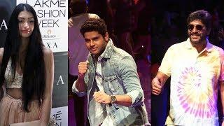 Celebs As A Guest At Lakme Fashion Week 2019 | Chunky Pandey, Alanna Panday, Abhimanyu Dasani