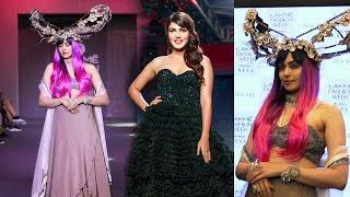 Adah Sharma And Rhea Chakraborty Ramp Walk | Lakme Fashion Week 2019 | Ambika Lal | Pinkey Agarwal