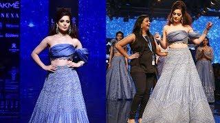 Kangana Ranaut Walks For Disha Patil At Lakme Fashion Week 2019