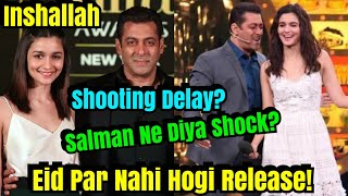 Inshallah Will Not Be Able To Release On Eid 2020? Salman Confirms